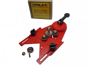 Drilax Diamond Hole Saw Jig Drill Guide