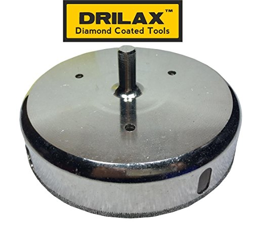 Drilax 6 5 16 Inch Diamond Hole Saw Glass Cutting Ceramic