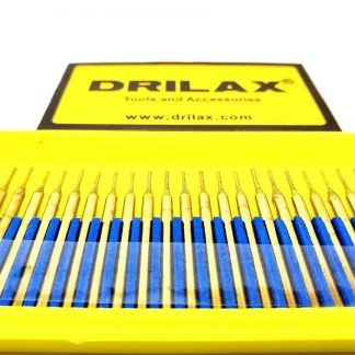 Drilax 1mm Titanium Diamond Drill Bit Set
