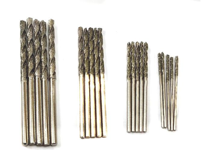 Drilax 20 pcs Mini Twist Drill Bit Set HSS High Speed Steel Tool Craft w//Case